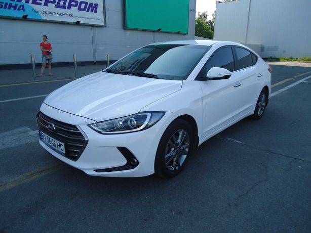 Hyundai Elantra 2018 г. в. Газ/бензин. Официальный автомобиль!
