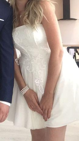 Sukienka Lou S biała