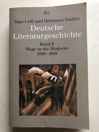 Deutsche Literaturgeschichte. I. Leiß
