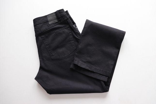 Męskie spodnie Brax Carlos Perma Black W33 L36 idealne jak nowe