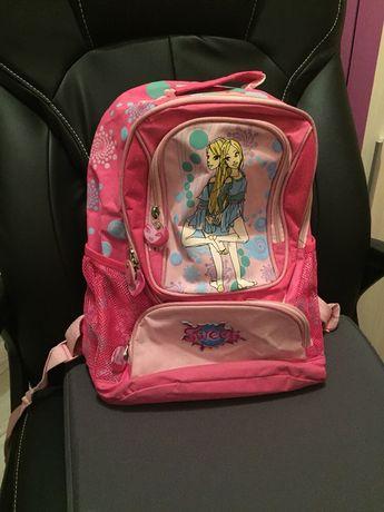 Plecak szkolny tornister różowy dla dziewczynki