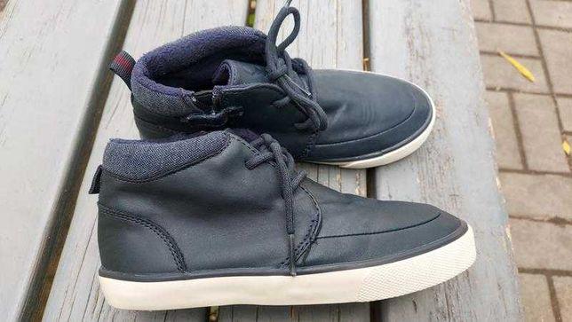 Хайтопы кроссовки ботинки на теплой подкладке с боковой молнией next