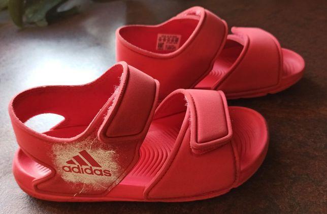 Sandałki Adidas Akwah Altaswim Piankowe r 31 stan idealny sandały