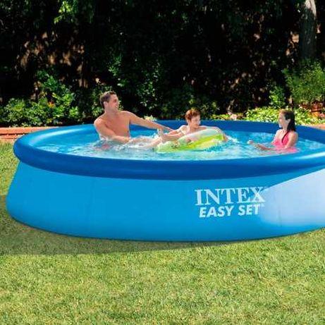 Piscina Intex Easy Set 366 x 76 cm com Bomba de água - Liquidação