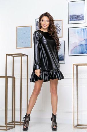 Продам неймовірну шкіряну сукню!!!