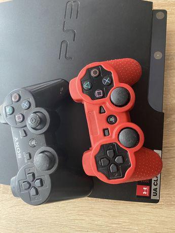 Playstation3 +ssd +2 джойстика