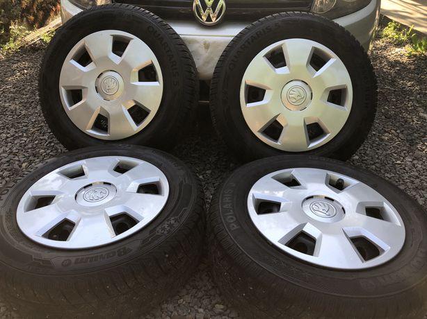 Диски з резиною зима 5/112 R15 mercedes skoda volkswagen