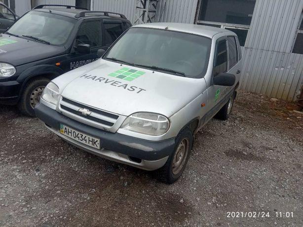 Автомобиль CHEVROLET NIVA 212300 ЗНГ. Год выпуска - 2007.
