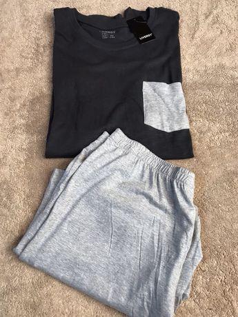 Набор для дома, мужская домашняя одежда, шорты- футболка Livergy