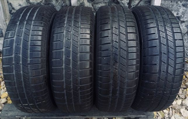 Continental 215/70r16 зима резина шины б/у склад оригинал комплект
