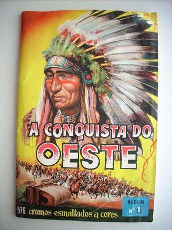 Caderneta Cromos Piratas e Conquista do Oeste