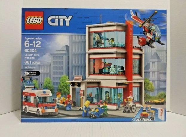 LEGO City SZPITAL 60204 Nowy i Oryginalny!!!
