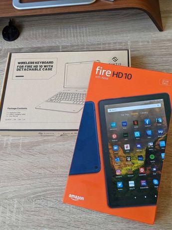 amazon fire hd 10 2021 (11 gen) + keyboard