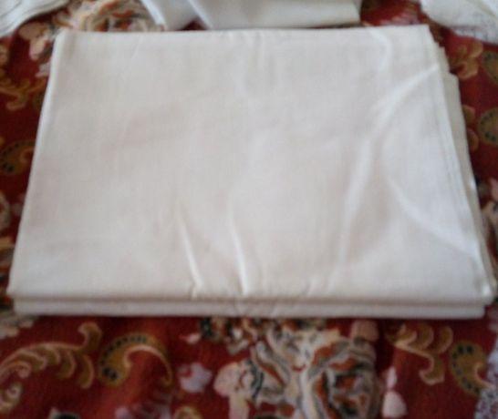 Простынь СССР белая хлопок размер 140 на 200