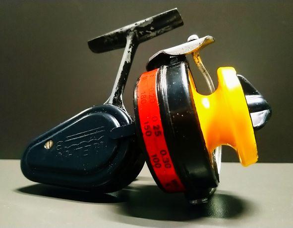 Stary kołowrotek kolekcjonerski SPINING RELAX 3 z wytwórni.inż KRUPSKI