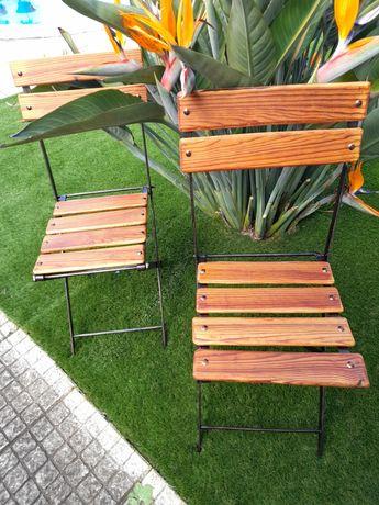 Cadeiras de jardim