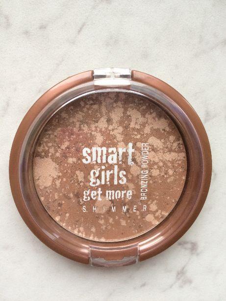 Puder brązujący Smart girls get more bronzer NOWY