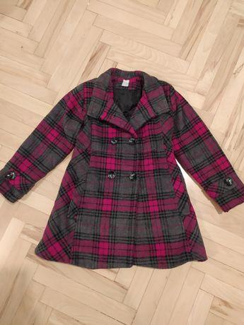 Płaszcz zimowy, płaszczyk r. 128