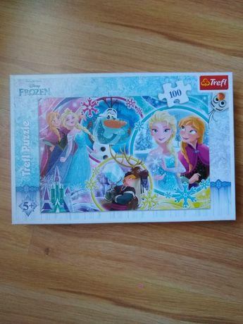 Puzzle Frozen 100