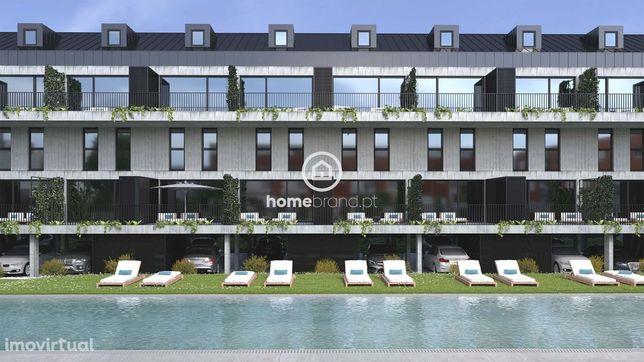 Apartamentos Novos T2, T3, T4 e T0+2  em condomínio fechado  com pisci