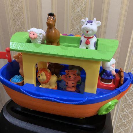 Продам игрушку ноев ковчег Kiddieland