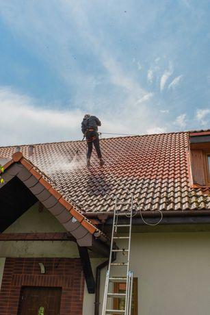 Czyszczenie, Mycie, Impregnacja Dachów, Elewacji, Kostki brukowej