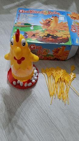 Kura i piora gra dla dzieci