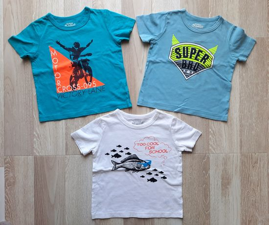 Фирменные футболки Oshkosh, Zara, размер 86-92, 2 года