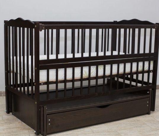 Кроватка Дубок «Веселка» розница и ОПТ напрямую от производителя