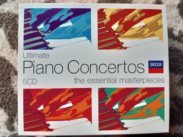 5 Koncertów fortepianowych cd