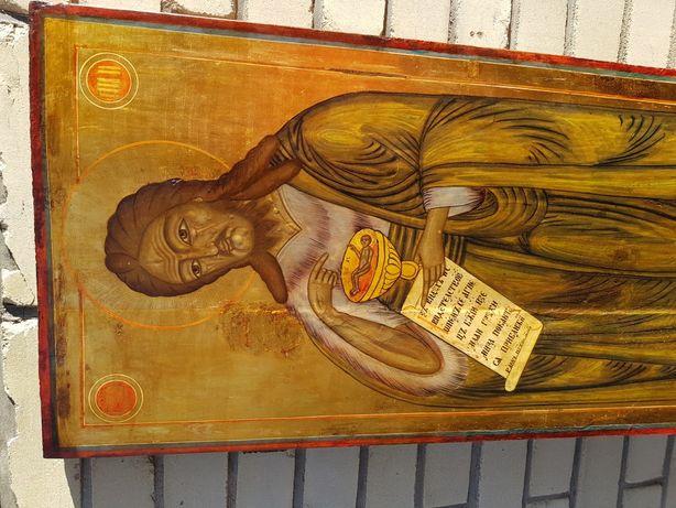 Икона Иоанна Предтечи, сусальное золото большой размер