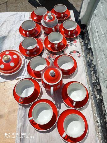Чайный сервиз СССР на  12 персон