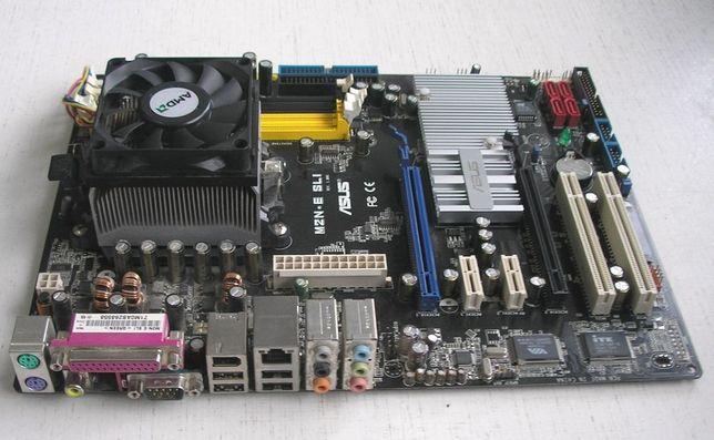 продам комплект сокет АМ2 (мат.плата ASUS + Athlon Х2 5000+)