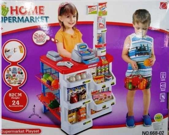Игровой набор супермаркет магазин с продуктами