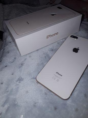 IPhone 8 plus 256 GB + 18 etui , ładowarka, słuchawki