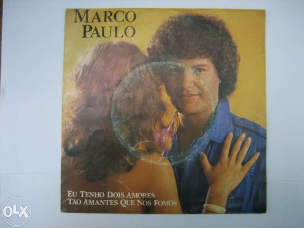 Vinil - Marco Paulo - Eu tenho dois amores