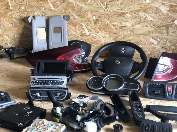Руль Меган 3 Шлейф підрульовий магнітола кнопкі Megane 3 Renault
