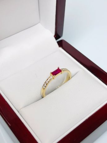 śliczny złoty pierścionek p333 1,70g