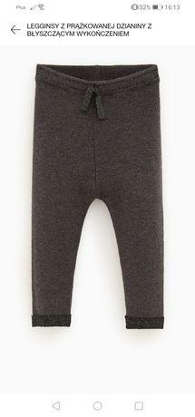 Spodnie legginsy 104 Zara