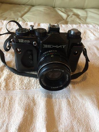 Aparat fotograficzny ZENITH XP z obiektywem HELIOS