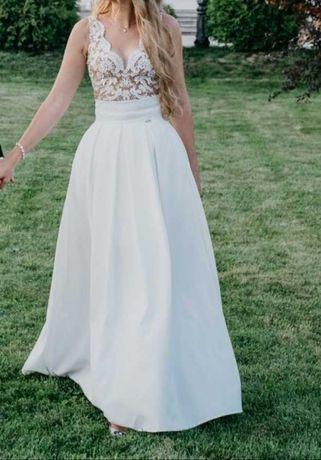 Sukienka ślubna 2 w 1