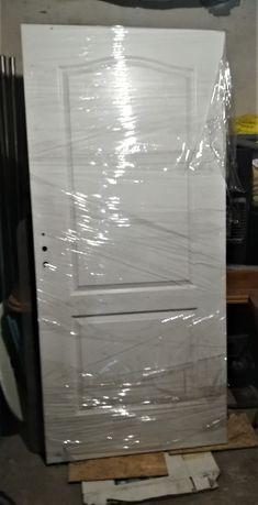 Drzwi wewnętrzne skrzydło drzwiowe 90 Porta białe - Lewe