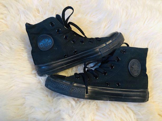 Converse Black High (wysokie) rozmiar 36.
