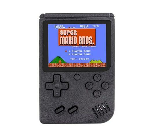 Game portátil incluí 168 jogos diferentes com bateria recarregável