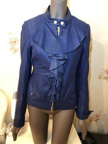 Кожаная куртка Escada. Оригинал! Летняя цена. Первая линия срочно!