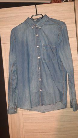 Koszula jeansowa, rozmiar S