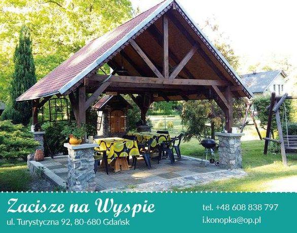 domki i pokoje na Wyspie Sobieszewskiej