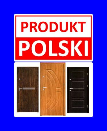 PROMOCJA!! Drzwi z montażem wejściowe zewnętrzne wewnątrzklatkowe.