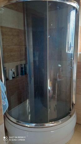 Kabina prysznicowa z wysokim brodzikiem 90