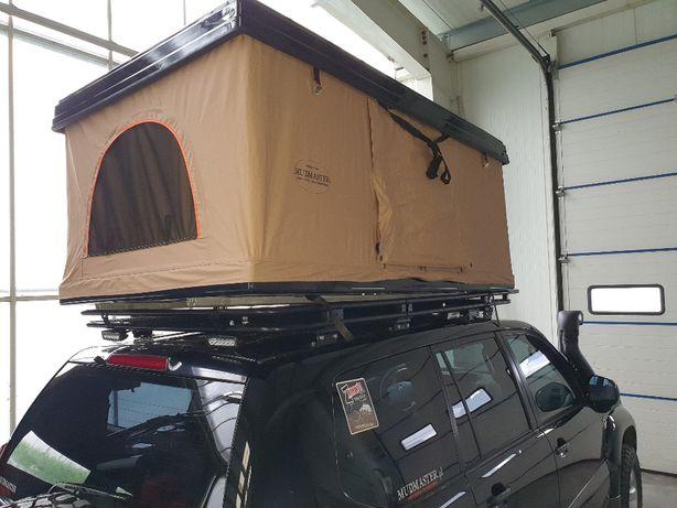 BOX 120 Namiot Dachowy Wyprawowy z oknami 2x osobowy kapsuła